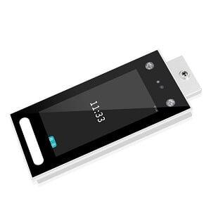 Aparat profesional recunoastere faciala verificare temperatura Face-Access BT PRO-DT7 APARAT PROFESIONAL DE CONTROL ACCES CU VERIFICARE TEMPERATURA AFISARE TEMPERATURA CORP ALERTA TEMPERATURA RIDICATA ALERTA LIPSA MASCA PROTECTIE CARD-COD ACCES WIFI-TCP/IP-USB